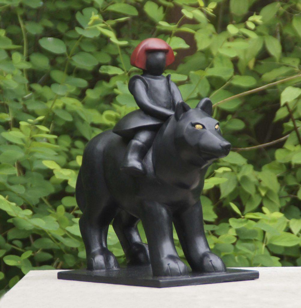 Roodkapje op de wolf
